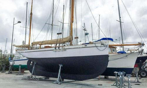 Image of Classic Camper & Nicholson Gaff yawl for sale in France for €120,000 (£105,117) Brittany, , France