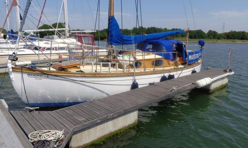 Image of Traditional 9 Ton Hillyard Bermudan sloop for sale in United Kingdom for £13,000 Southampton, Hampshire, , United Kingdom