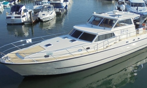 Image of Aquastar 60 for sale in United Kingdom for £450,000 Soon to be at the Hamble River Boat Yard, United Kingdom