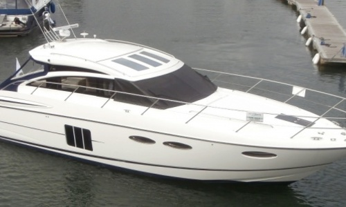 Image of Princess V52 for sale in United Kingdom for £477,500 Hamble River Boat Yard, United Kingdom