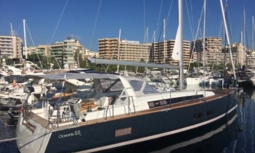 Image of Beneteau Oceanis 55 for sale in Spain for €515,000 (£456,755) PALMA DE MALLORCA, Spain