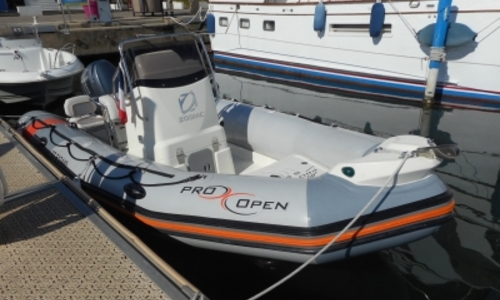 Image of Zodiac 550 Pro Open for sale in France for €16,500 (£14,621) LA GRANDE MOTTE, France