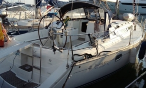 Image of Jeanneau Sun Odyssey 37.2 for sale in France for €37,000 (£32,723) GOLFE JUAN, France