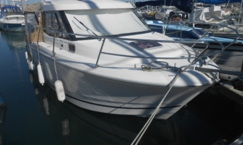 Image of Jeanneau Merry Fisher 755 Marlin for sale in France for €42,500 (£37,660) LES SABLES D'OLONNE, France
