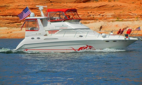 Image of Sea Ray 42 AC for sale in United States of America for $109,900 (£78,231) Page, Arizona, United States of America