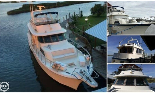 Image of Hatteras 53 Motor Yacht Extended Deck for sale in United States of America for $169,900 (£127,532) New Orleans, Louisiana, United States of America