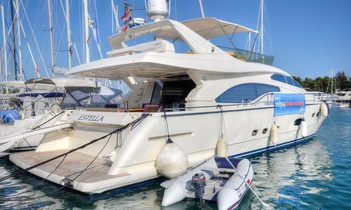 Image of Ferretti 680 for sale in Croatia for €540,000 (£476,144) Croatia