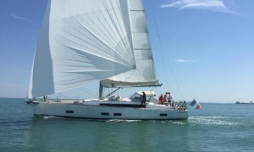 Image of Beneteau Oceanis 55 for sale in France for €453,000 (£401,767) LA ROCHELLE, France
