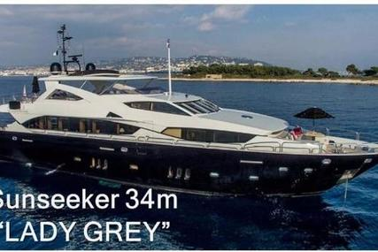 Sunseeker 34 Metre Yacht for sale in France for €4,995,000 (£4,424,818)