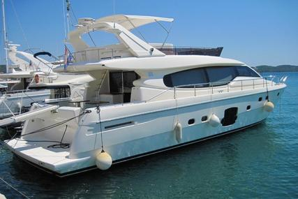 Ferretti 630 for sale in Croatia for €800,000 (£700,200)