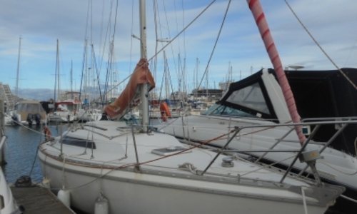 Image of Jeanneau Aquila 27 for sale in France for €14,900 (£13,051) LA GRANDE MOTTE, France