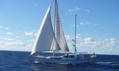 Image of Pacific Eagle 102 28m Alloy Pilothouse Ketch for sale in  for $2,000,000 (£1,513,546)