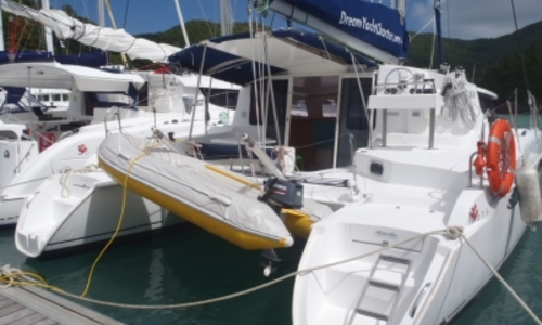 Image of Fountaine Pajot Mahe 36 for sale in Sierra Leone for €115,000 (£102,710) PRASLIN, Sierra Leone