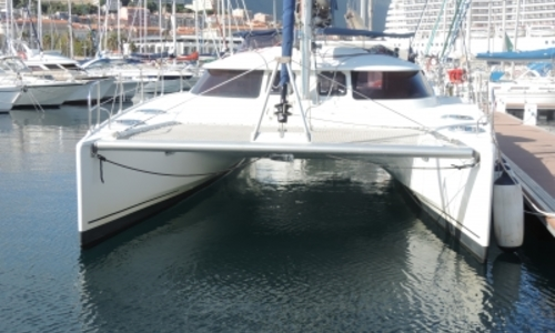 Image of Fountaine Pajot Lavezzi 40 for sale in Croatia for €175,000 (£155,655) TROGIR, Croatia