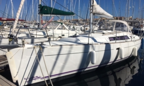 Image of Beneteau Oceanis 37 for sale in France for €94,000 (£84,244) LE CAP D'AGDE, France