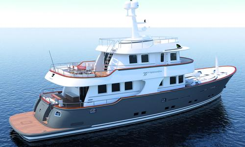 Image of TERRANOVA YACHTS T85 for sale in Italy for €5,350,000 (£4,710,088) Italy