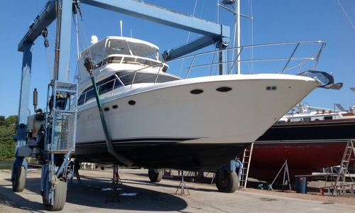 Image of Sea Ray 480 Sedan Bridge for sale in United States of America for $225,000 (£170,661) Westerly, Rhode Island, United States of America