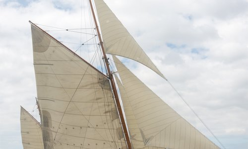 Image of Classic Yawl for sale in Netherlands for €1,450,000 (£1,276,319) In Zeeland - . Contact For Sail in Marina Port Zélande - Ouddorp, Netherlands
