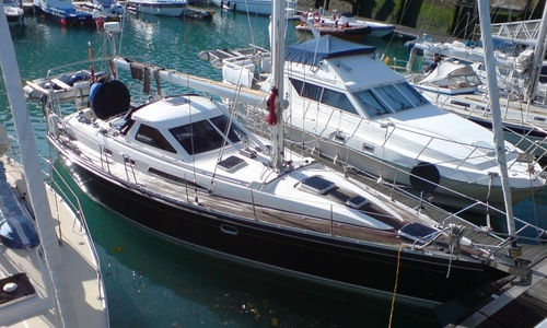 Image of Trintella 42 for sale in Spain for €185,000 (£161,921) In . Contact For Sail in Marina Port Zélande - Ouddorp, Spain