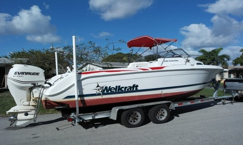 Image of Wellcraft 240 Coastal Walkaround for sale in United States of America for $18,200 (£13,020) Pompano Beach, Florida, United States of America