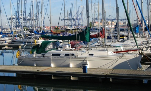 Image of Hanse 341 for sale in United Kingdom for £44,500 Tollesbury Marina, Essex, United Kingdom