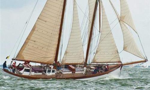 Image of Fred Shepherd Staysail Schooner for sale in Netherlands for €385,000 (£338,140) Netherlands