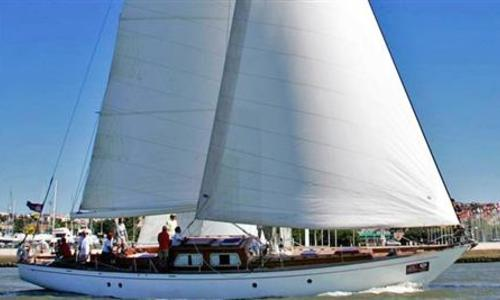 Image of Laurent Giles sloop for sale in Portugal for €330,000 (£291,878) Portugal