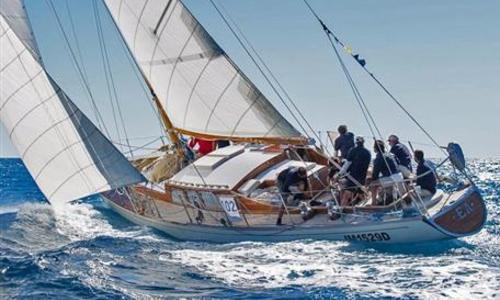Image of Baglietto 64ft Marconi Cutter for sale in Italy for €700,000 (£611,621) Italy