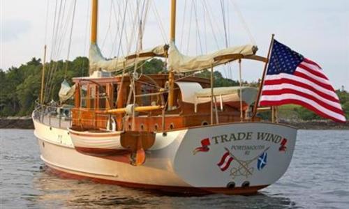 Image of John Alden Bain, Miller & Son  Motor Sailer for sale in United States of America for $2,900,000 (£2,076,234) United States of America