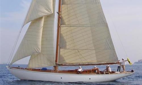 Image of Alfred Mylne William Fife build Bermudian Cutter for sale in France for €625,000 (£549,620) France