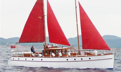 Image of O.M. Watts Motor Sailer for sale in Spain for €240,000 (£214,479) Spain