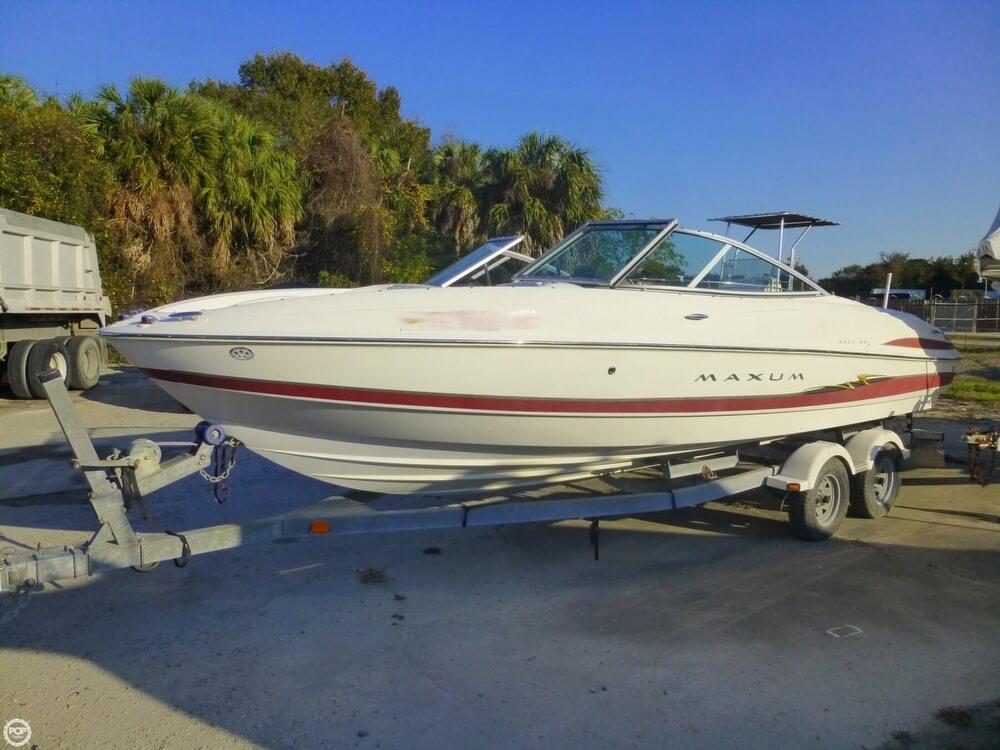 maxum 2200 sr for sale in united states of america for 13 500 rh rightboat com 1988 Maxum 20Ft Maxum 1988 Motor