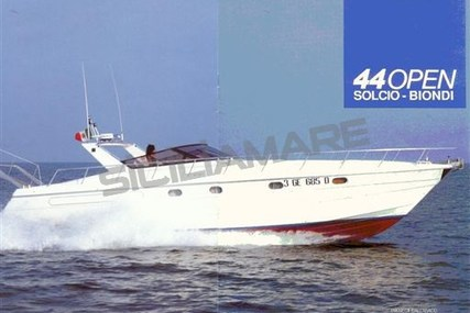 Solcio 44 OPEN for sale in Italy for €59,000 (£52,265)