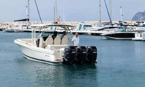 Image of Chris-Craft Catalina 34 for sale in Spain for €360,000 (£316,940) Spain