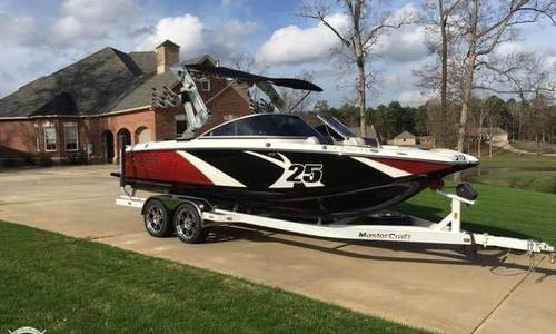 Image of Mastercraft X25 for sale in United States of America for $79,500 (£62,324) West Monroe, Louisiana, United States of America
