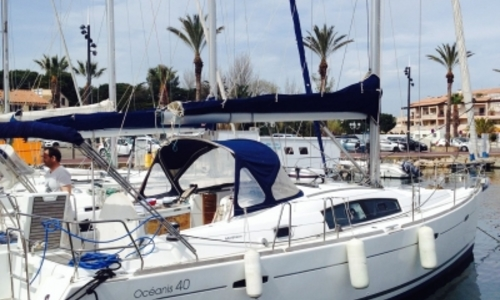 Image of Beneteau Oceanis 40 for sale in France for €99,900 (£88,496) SAINT CYPRIEN, France