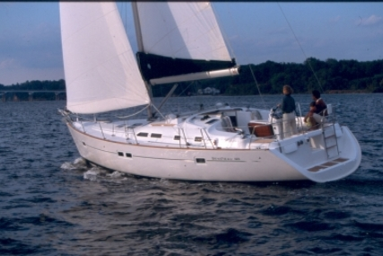 Beneteau Oceanis 423 for sale in France for €99,700 (£88,345)