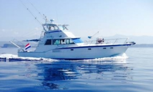 Image of Hatteras 53 Convertibile for sale in Greece for €52,950 (£47,097) CORFU, Greece