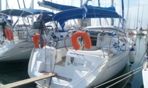 Image of Jeanneau Sun Odyssey 35 for sale in Greece for €45,000 (£39,840) ATHENS, Greece