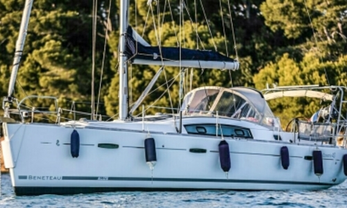 Image of Beneteau Oceanis 40 for sale in France for €99,500 (£89,344) GOLFE JUAN, France