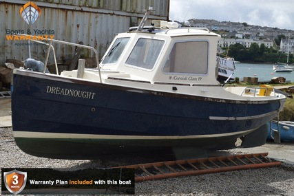 Cornish Crabber Clam 19 Wheelhouse for sale in United Kingdom for £16,950