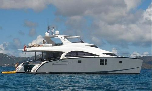 Image of Sunreef 70 Power for sale in Antigua and Barbuda for $2,150,000 (£1,538,087) Antigua & Barbuda, Antigua and Barbuda