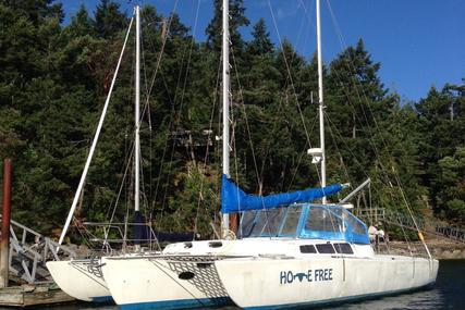 Cross Foam Core Trimaran 42 for sale in Canada for $135,000 (£102,292)