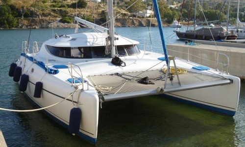 Image of Fountaine Pajot Athena 38 for sale in Greece for €150,000 (£132,444) Greece