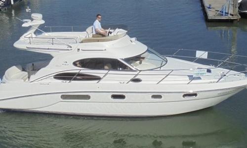 Image of Sealine F37 for sale in United Kingdom for £119,950 Hamble River Boat Yard, United Kingdom