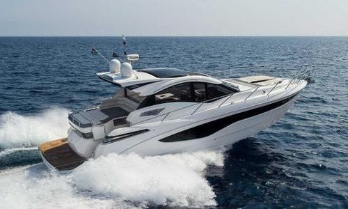 Image of Galeon 445 HTS for sale in United Kingdom for €620,242 (£547,100) Southampton, United Kingdom