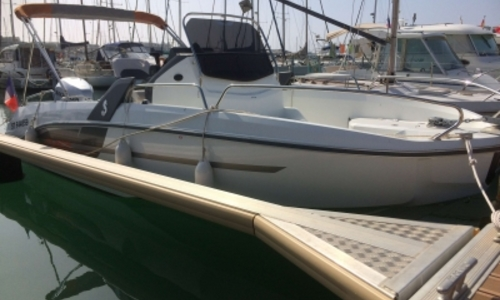 Image of Beneteau Flyer 6.6 Spacedeck for sale in France for €36,900 (£32,688) LA GRANDE MOTTE, France