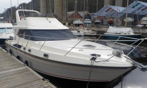 Image of Fairline Sedan 36 for sale in France for €59,500 (£52,077) SAINT QUAY PORTRIEUX, France