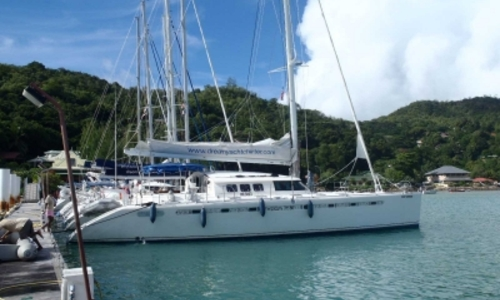 Image of Fountaine Pajot Marquises 56 for sale in Sierra Leone for €270,000 (£239,177) PRASLIN, Sierra Leone