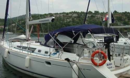 Image of Jeanneau Sun Odyssey 49 for sale in Croatia for €110,000 (£96,540) SIBENIK, Croatia